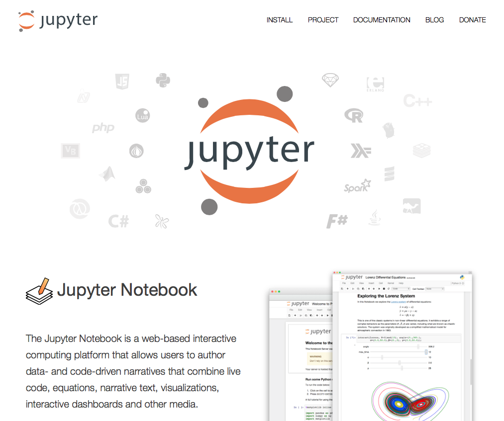 jupyter notebookとDjangoの使い方