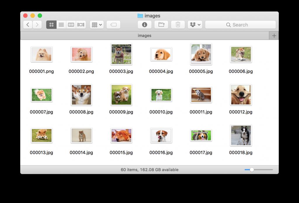 icrawler機械学習画像