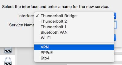 Mac VPN設定2