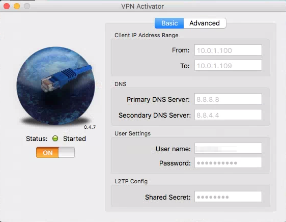 VPN Activator 設定方法