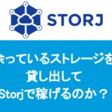 余っているストレージを貸し出して、Storjで稼げるのか?
